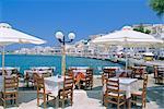 Harbour, Naxos Town, Naxos, Cyclades Islands, Greece, Europe