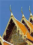 Wat Benchamabophit, Bangkok, Thaïlande, Asie