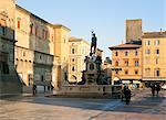 Piazza Nettuno, Bologna, Emilia-Romagna, Italy, Europe