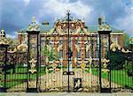The Front Gate, Kensington Palace, London, England, UK