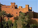 Aït Benhaddou (Ait-Ben-Haddou) kasbahs, haut Atlas, au Maroc, en Afrique du Nord, Afrique