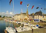 Le vieux port, Honfleur, Normandie, France