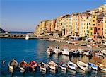 Le port à Portovenere, Ligurie, Italie
