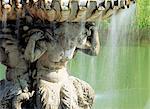 Nahaufnahme des Brunnens, Hyde Park, London, England, Vereinigtes Königreich, Europa