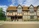 Lieu de naissance de Shakespeare, Stratford-upon-Avon, Warwickshire, Angleterre, Royaume-Uni, Europe