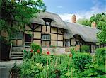 Cottage d'Anne Hathaway, Stratford-upon-Avon, Warwickshire, Angleterre, Royaume-Uni, Europe
