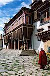 Tibetan monastery outside Garze, Sichuan Province, China, Asia