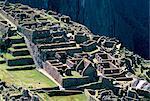 Ruines de la cité Inca dans la lumière du matin, Machu Picchu, patrimoine mondial de l'UNESCO, Province d'Urubamba, Pérou, Amérique du Sud