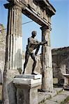 Temple d'Apollon, Pompéi, UNESCO World Heritage Site, Campanie, Italie, Europe