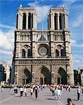 Notre Dame de Paris, Paris, France, Europe