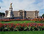 The Victoria Monument and Buckingham Palace, London, England, United Kingdom, Europe