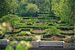 Gardens of the 18th century Queluz Palace, Queluz, Lisbon, Portugal, Europe
