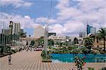 City Square and skyline, Nairobi, Kenya, East Africa, Africa