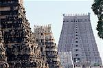 Ranganatha Hindu temple, Srirangam, Tamil Nadu state, India, Asia