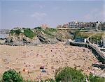 Beach, Newquay, Cornwall, England, United Kingdom, Europe