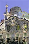 Architecture de Gaudí, Casa Batllo, Barcelone, Catalogne a (Catalunya), Espagne, Europe