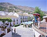 Le white hill village de Mijas, Costa del Sol, Andalucia (Andalousie), Espagne, Europe