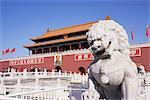 Gate of Heavenly Peace (Tiananmen), Tiananmen Square, Beijing, China, Asia