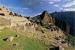 Ruines de la cité Inca, Machu Picchu, patrimoine mondial de l'UNESCO, Province d'Urubamba, Pérou, Amérique du Sud