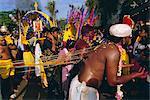 Festival hindou annuel de Thaipusam, grottes de Batu, Kuala Lumpur, Malaisie
