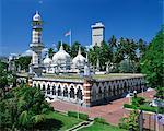 Masjid Jamek Mosque (Friday Mosque), built in 1909, near Merdeka Square, Kuala Lumpur, Malaysia, Southeast Asia, Asia