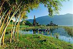 Candikuning (Candi Kuning) Temple, Lake Bratan, Bali, Indonesia