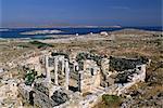 Archaeological site, Delos, Cyclades Islands, Greek Islands, Greece, Europe