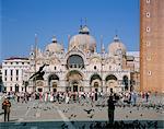 Basilica of San Marco (St. Mark's), St. Mark's Square, Venice, Veneto, Italy, Europe