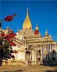 Ananda Temple, Bagan (Pagan) area, Myanmar (Burma), Asia