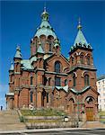Uspenski cathedral, Helsinki, Finland, Scandinavia, Europe