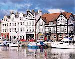 Old harbour, Douglas, Isle of Man, England, United Kingdom, Europe