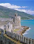 Anamur château, Cilicie, Anatolie, Turquie, Asie mineure, Asie