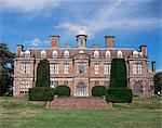 Sudbury Hall in Sudbury, Derbyshire, England, Vereinigtes Königreich, Europa