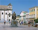 Cathedral Square, Salvador, Bahia, Brazil, South America