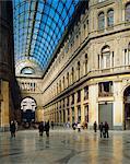 Galleria Umberto I, Naples, Campanie, Italie