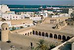 Vue de Ribat de la médina, Sousse, UNESCO World Heritage Site, Tunisie, Afrique du Nord, Afrique