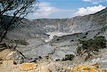 Kawah Tatu Reine cratère volcan Tangkuban Prahu, près de Bandung, l'île de Java, en Indonésie, Asie du sud-est, Asie