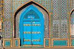 Sanctuaire de Hazrat Ali, qui fut assassiné en 661, Mazar-I-Sharif, Balkh province, Afghanistan, Asie