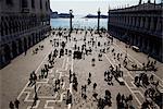 The Piazzetta, Venice, Veneto, Italy, Europe