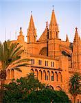 La cathédrale de Palma, sur Majorque, îles Baléares, Espagne, Europe