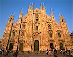 Cathédrale de Milan (Duomo), Milan, Lombardie, Italie, Europe