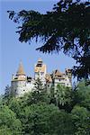 Schloss Bran (Dracula Schloss), Siebenbürgen, Rumänien, Europa