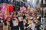Mardi Gras, la Nouvelle-Orléans, Louisiane, États-Unis d'Amérique