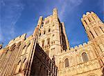 Cathédrale d'Ely, Ely, Cambridgeshire, Angleterre, Royaume-Uni, Europe