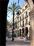 Placa Reial, Barcelone (Catalogne) (Catalunya), Espagne, Europe