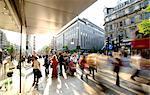 Oxford Street piétons, Londres, Royaume-Uni, Europe