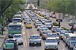 Traffic congestion, Mexico, Mexique, l'Amérique centrale