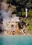 Sea Hell (Umi-jigoku), natural hot springs (onsen), Beppu, Kyushu, Japan