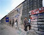 Le Berlin mur, Berlin, Allemagne, Europe