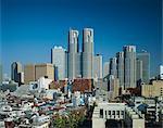 Shinjuku skyline, Tokyo, Honshu, Japon, Asie